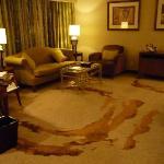 Club Suite sitting room