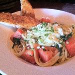 Westwood pasta $2.95 Happy hour menu