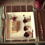 Lingot de foie gras et ses figues confites
