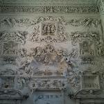 muro di stucchi di panna