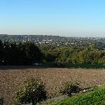 Blick Richtung Baldeneysee, view towards Lake Baldeney