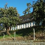Vorderseite des Gebäudes, front view of building