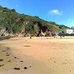 beach at greve de lecq