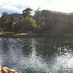 Fishing pond and Lodge