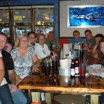 family and friends day out at Joes crab shack
