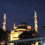 Dining near the Blue Mosque