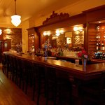 The Long Bar is a replica of the first bar in Maple Creek.