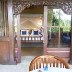 Bedroom from terrace