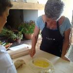 Making fresh pasta!