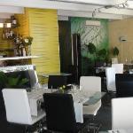 Indoor setting at Mahi Mahi