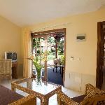 Villa: Wohnzimmer