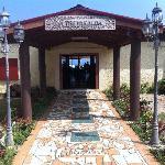 The entrance to Vakaloa