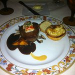 This is the filet with lobster and truffled mac and cheese
