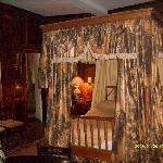 One of the haunted bedrooms!