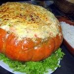 Camarão na Moranga - Delicioso!