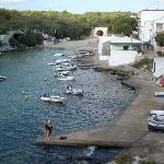 next bay shallow bathing area