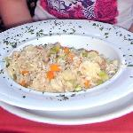 Risoto with vegetable