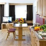 Zimmer Atelier mit Küche