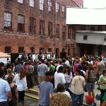 concert space in the courtyard