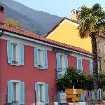 Arriving at  the Villa Sempreverde