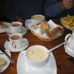 You have to try Mick's Chowder!