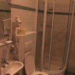 bathroom in Pension De Lux
