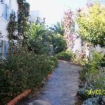 pathway to apartments