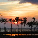 Waikoloa Beachat sunset