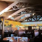 Restaurant inside Holiday Inn