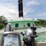 GPS confirms the equatorial coordinates