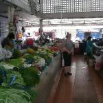 In a market near Hotel