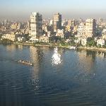 Cairo view from hotel room