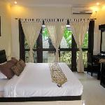 One bedroom villa - bedroom