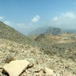 Hajargebirge im Oman/hinter Dibba