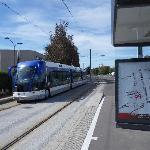 Twisto tram on Bd Henri Becquerel