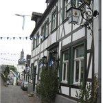 """Gasthof """"Zum alten Schloss"""", in Arnsberg's Guter Stube"""