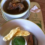 an oxtail soup