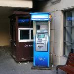 ATM by the lobby