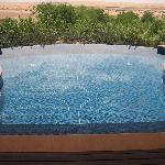la piscina privata