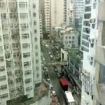 вид на улицу с 15 этажа