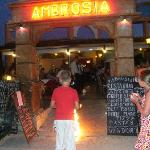 Entertainment at Ambrosia Restaurant