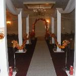 banquet room wedding