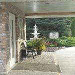 Front entrance -- main reception