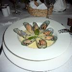 """The famous """"Mussels a la coriandre"""""""