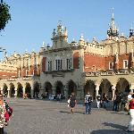The Renaissance Sukiennice (Cloth Hall, Drapers' Hall) in Krakow Market Square