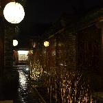 One of the courtyards at Jing's