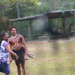 Boomerang throwing
