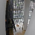inside the Guggenheim Bilbao