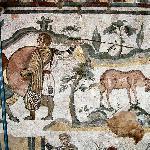 Villa del Casale -mosaico pavimento