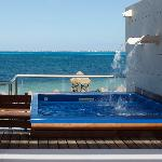 Two Story Beach Front Casita Suite w/Plunge Pool